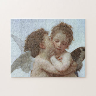 Cupid and Psyche as Children Jigsaw Puzzle