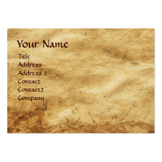 Cupid and Psyche as Children Parchment Large Business Cards (Pack Of 100)