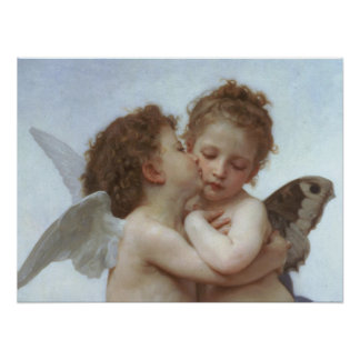 Cupid and Psyche as Children Print