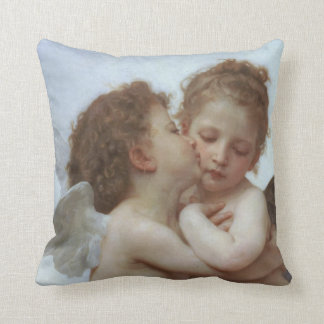 Cupid and Psyche as Children Throw Pillow