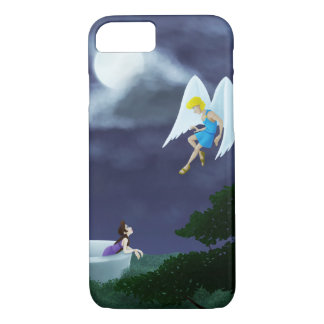 Cupid and Psyche in the Moonlight iPhone 8/7 Case