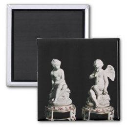 Cupid and Psyche, Sevres group, 1758 Magnet