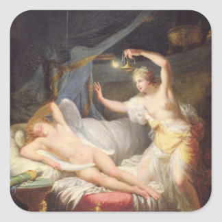 Cupid and Psyche Stickers