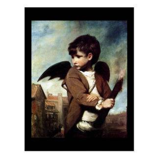 Cupid as a Link Boy Post Card