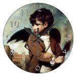 Cupid as a Link Boy Wall Clocks