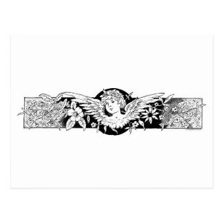 Cupid Baby with Wings Postcard