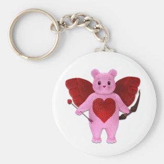 Cupid Bear Keychain