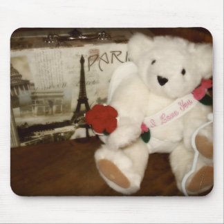 Cupid Bear Mouse Pad