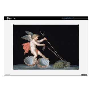 """Cupid being led by Tortoises (oil on panel) Skin For 15"""" Laptop"""