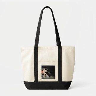 Cupid being led by Tortoises (oil on panel) Tote Bag