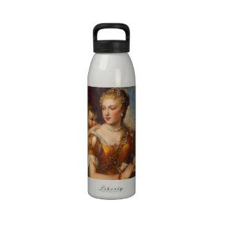 Cupid Blindfolding de Venus Botellas De Agua Reutilizables