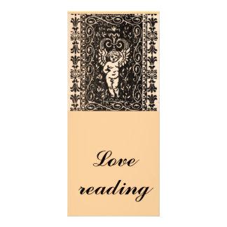 Cupid Book Mark Rack Card Design