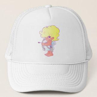 cupid_bow_arrow trucker hat