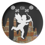 CUPID BRICK BACKGROUND PRODUCTS PLATES