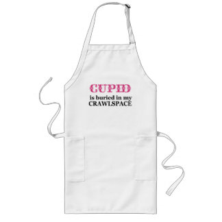 Cupid Buried In My Crawlspace Long Apron