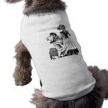 Cupid Calavera, 1900s esqueléticos de los amantes  Camisa De Mascota
