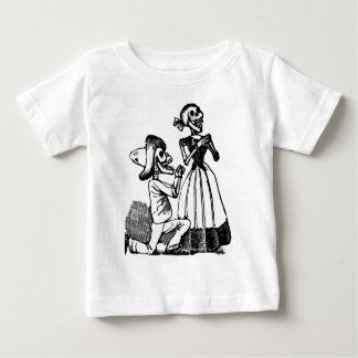 Cupid Calavera, Skeleton Lovers c. 1900s Baby T-Shirt
