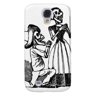 Cupid Calavera, Skeleton Lovers c. 1900s Samsung Galaxy S4 Case