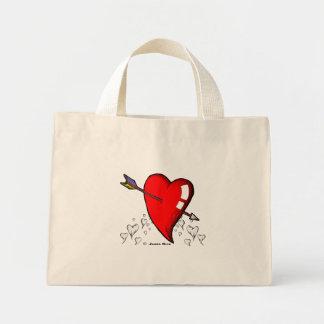 Cupid Calling Mini Tote Bag