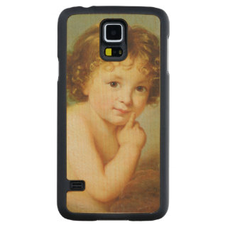 Cupid Carved Maple Galaxy S5 Case