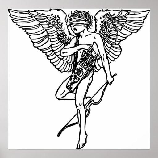 Cupid ciego póster