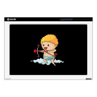 Cupid Clouds Laptop Decals