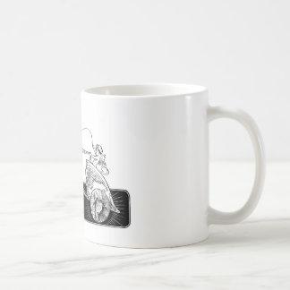 Cupid con un azote taza