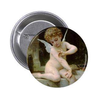 Cupid con una mariposa de Guillermo Bouguereau Pins