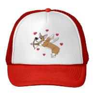 Cupid Corgi Hat