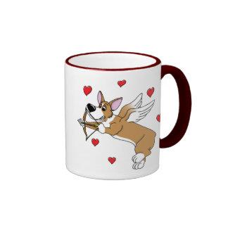 Cupid Corgi Mug