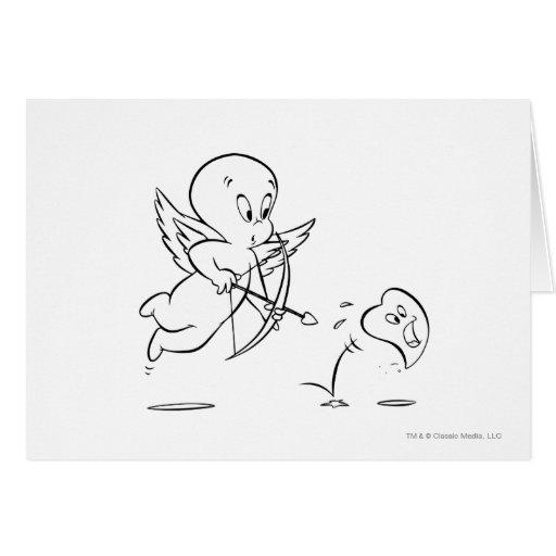 Cupid de Casper Felicitaciones