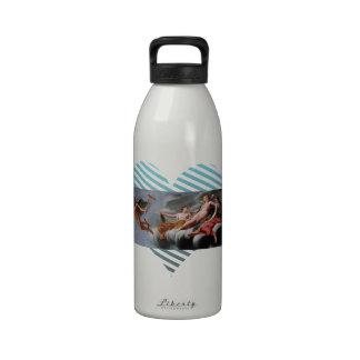Cupid de Eustache Sueur- que pide Mercury Botellas De Agua Reutilizables
