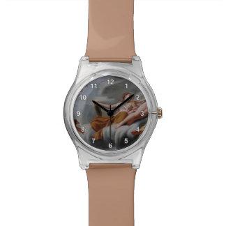 Cupid de Eustache Sueur- que pide Mercury Reloj