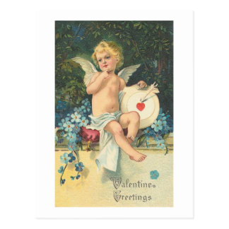 Cupid de los saludos de la tarjeta del día de San Postales