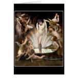 Cupid del anillo de los ángeles de Bouguereau Tarjeta