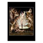 Cupid del anillo de los ángeles de Bouguereau Tarjetas De Negocios