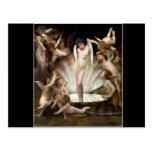 Cupid del anillo de los ángeles de Bouguereau Tarjeta Postal