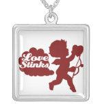 Cupid del día de las Anti-tarjetas del día de San  Colgante Personalizado