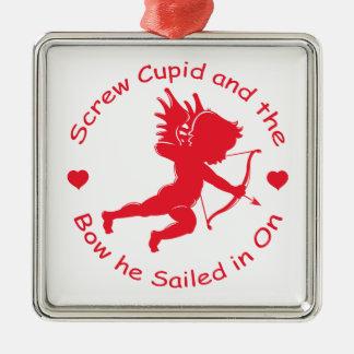 Cupid del tornillo ornamentos de navidad