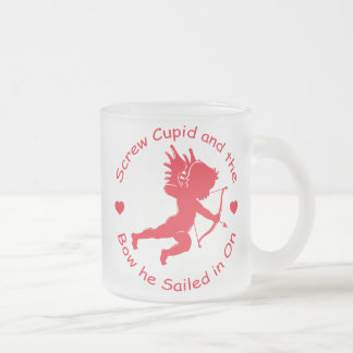 Cupid del tornillo taza de cristal