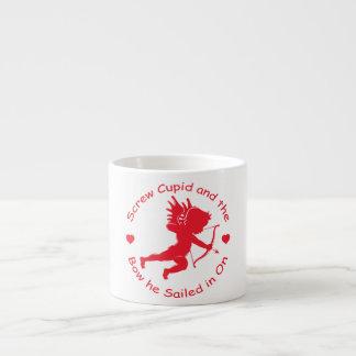 Cupid del tornillo taza espresso