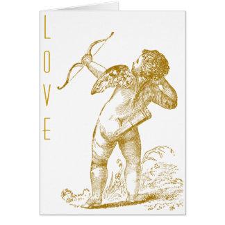 Cupid del vintage tarjetas