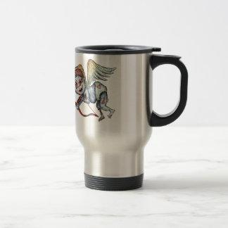 Cupid del zombi taza de café