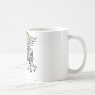Cupid del zombi tazas de café