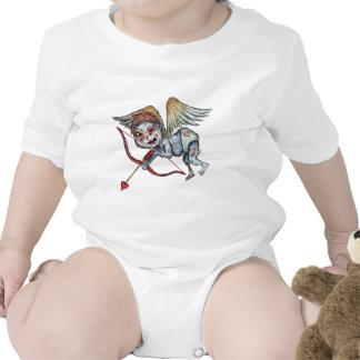 Cupid del zombi trajes de bebé