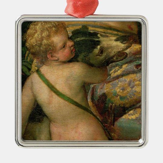 Cupid, detail from Venus and Adonis, 1580 Metal Ornament