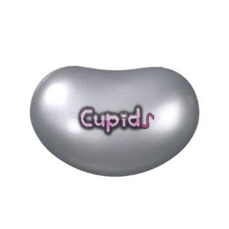 Cupid diabólico jarrones de dulces