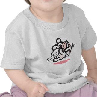 Cupid dog tee shirts
