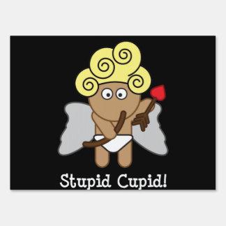 Cupid estúpido cartel