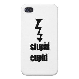 Cupid estúpido iPhone 4 fundas
